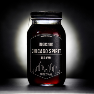 Moonshine Wild Berry 700ml Label vorne